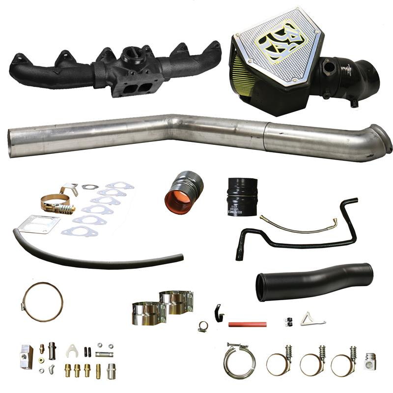 03-07 5 9L BD-Power Rumble B S400 Turbo Installation Kit